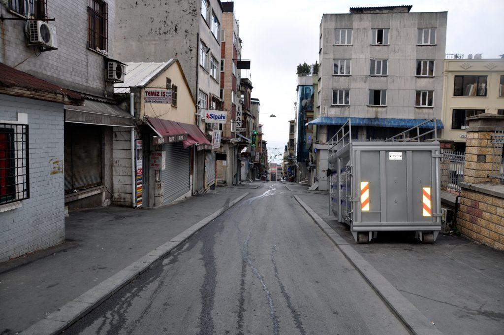 Узкие улицы старого Стамбула. Фатих